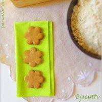 Biscotti che vanno a ruba... i biscotti con farina di castagne