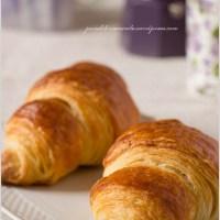 Croissant sfogliati semplici e indolori...50 sfoglie di MTC!