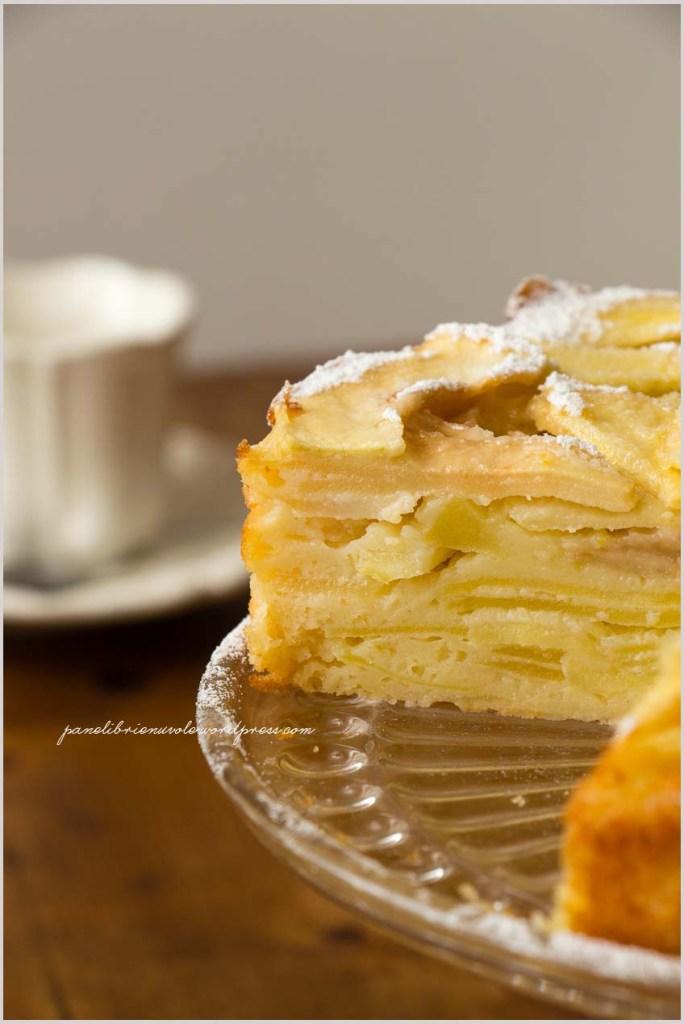 torta di mele invisibile-5