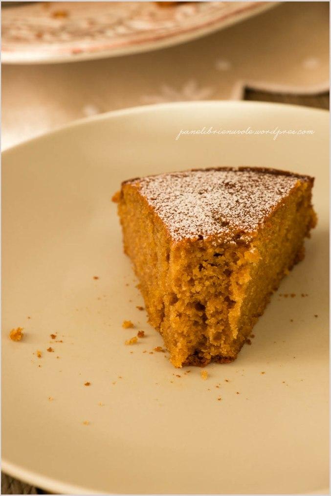 torta con farina di castagne e clementine-6